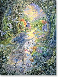 Encouragement & Support Card - May the light of brighter days shine on you. | Josephine Wall | 10837 | Leanin' Tree
