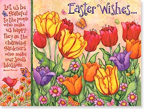 Easter Card - To someone who makes everyday feel like spring! | Debi Hron | 10839 | Leanin' Tree