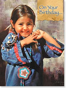 Birthday Card - Count not the candles, but the blessings... | Alfredo Rodriguez | 10845 | Leanin' Tree