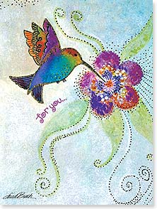 Birthday Card - The sweet little miracles that make this a day to remember. | Laurel Burch® | 10873 | Leanin' Tree