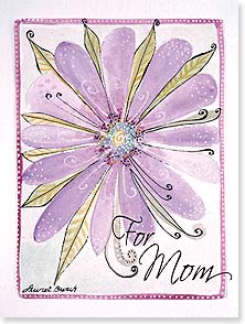 Mother's Day Card - Wishing you a day blooming with love! | Laurel Burch® | 10883 | Leanin' Tree