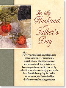 Father's Day Card - I love you for all the things you do. | Lisa Snow Lady | 10908 | Leanin' Tree