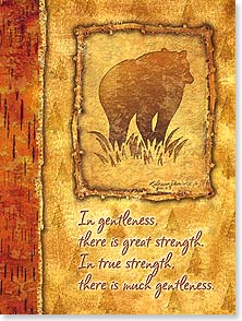 Father's Day Card - Celebrating all the goodness and strength in you. | Kathleen Denis | 10910 | Leanin' Tree