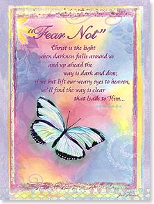 Encouragement & Support Card - May our Lord grant you strength w/ Isaiah 41:10 | Gail Marie® | 10955 | Leanin' Tree