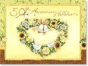 Anniversary Card - You two are the ultimate newlyweds. | Susan Winget | 10963 | Leanin' Tree