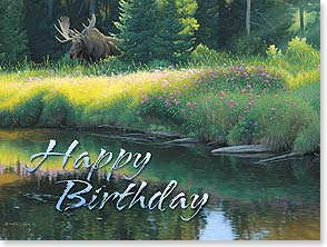 Birthday Card - Hoping that big things are in store for you this year! | Derek Wicks | 11434 | Leanin' Tree