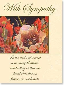 Sympathy Card - Remembering the life of someone special. | Sharon Weiser | 11451 | Leanin' Tree