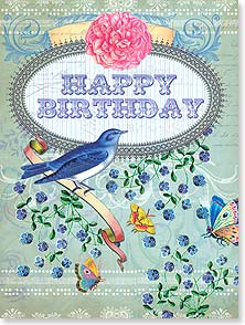 Birthday Card - You truly deserve to be celebrated! | Shawn Byles | 11452 | Leanin' Tree
