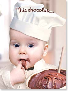 Birthday Card - Needs more chocolate! | Michael Quackenbush | 11457 | Leanin' Tree