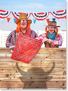 Anniversary Card - Another year, another rodeo. | Michael Quackenbush | 11461 | Leanin' Tree