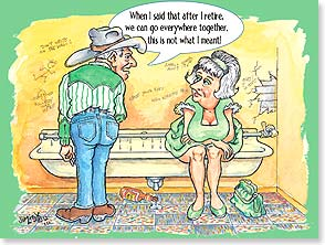 Retirement Card - Ain't that a splash of good news! | Jim Lisk | 11492 | Leanin' Tree