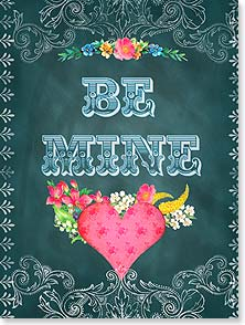 Valentine's Day Card - Mine, all mine, only mine, and always mine. | Shawn Byles | 11637 | Leanin' Tree