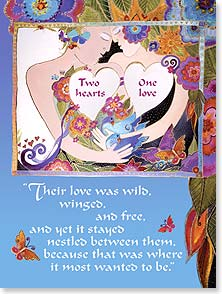 Valentine's Day Card - Our love story continues to amaze me. | Laurel Burch® | 11638 | Leanin' Tree