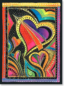 Valentine's Day Card - You are appreciated, thought of, and loved. | Laurel Burch® | 11639 | Leanin' Tree