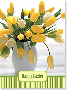 Easter Card - Wishing you an abundance of springtime joys. | Masterfile Corporation | 11712 | Leanin' Tree