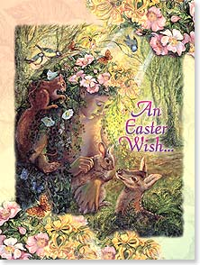 Easter Card - May you take special joy in this time of rebirth. | Josephine Wall | 11714 | Leanin' Tree