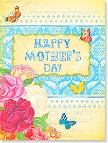 Mother's Day Card - Wishing you a bright and happy day! | Shawn Byles | 11770 | Leanin' Tree