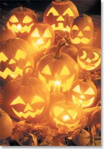 Halloween Card - Hope Your Halloween is All Smiles!  - 12770 | Leanin' Tree