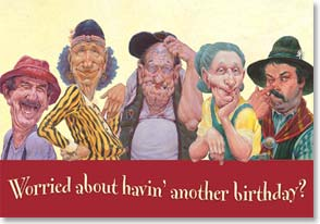 Birthday Card - Funny | Aging Gracefully | Mike Scovel | 12905 | Leanin' Tree