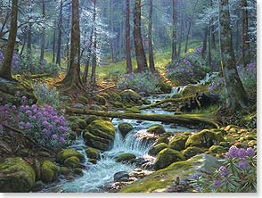 Blank Card - Nature's Harmony | Mark Keathley | 13110 | Leanin' Tree