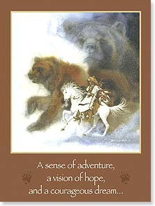 Birthday Card - My Wish For You: Adventure, Hope and Dreams | Bev Doolittle&amp;reg; | 13121 | Leanin' Tree