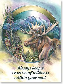 Birthday Card - Here's to wild and wonderful you! | Jody Bergsma | 13176 | Leanin' Tree