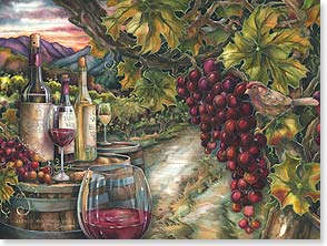 Birthday Card - Here's to the promise of a very good year! | Jody Bergsma | 13178 | Leanin' Tree