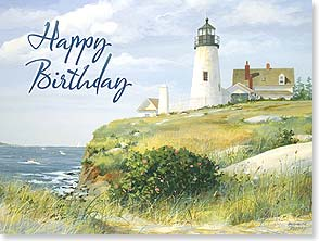 Birthday Card - Birthday Wishes for a Perfectly Wonderful Day | Jacqueline Penney | 13184 | Leanin' Tree