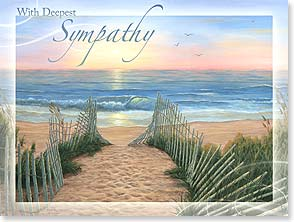 Sympathy Card - Memories of Treasured Times | Kim Hight | 13209 | Leanin' Tree