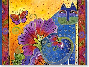 Birthday Card - Birthday Wish For Magical Things | Laurel Burch® | 13231 | Leanin' Tree