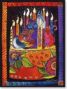 Birthday Card - You shine brighter every year. | Laurel Burch® | 13234 | Leanin' Tree