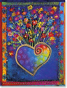 Birthday Card - Staff Pick - May the joy you give come back to you. | Laurel Burch® | 13245 | Leanin' Tree