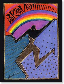 Congratulations Card - Bravo! | Laurel Burch&amp;reg; | 13254 | Leanin' Tree