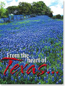 Birthday Card - From the heart of Texas...straight to yours.  Best Wishes | Harry Bowden | 13288 | Leanin' Tree