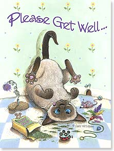 Get Well Card - Don't Self-Medicate! | Gary Patterson | 13317 | Leanin' Tree