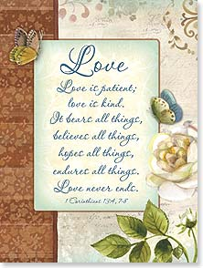 Wedding Card - Love Is Patient... | Sue Zipkin | 13322 | Leanin' Tree