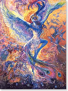 Birthday Card - May happiness dance in your heart always! | Josephine Wall | 13329 | Leanin' Tree