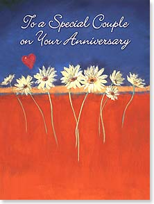 Anniversary Card - Wishing you a love that grows deper with each passing year. | Nel Whatmore | 13440 | Leanin' Tree