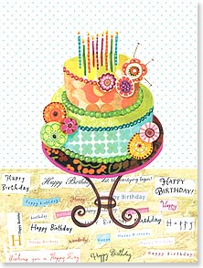 Birthday Card - Let the Party Begin! | Lori Siebert | 13454 | Leanin' Tree