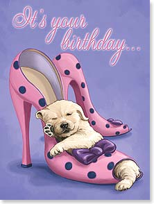 Birthday Card - Dancing Shoes | Advocate Art | 13456 | Leanin' Tree
