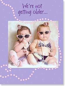 Birthday Card - We're setting more trends! | Christina Bynum Breaux | 13459 | Leanin' Tree