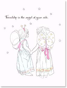 Appreciate You Card - The Angel at Your Side | Jayne Oliver | 13479 | Leanin' Tree