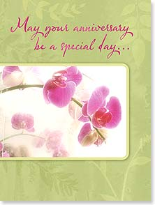 Anniversary Card - Beautiful Blossoms | Judy Stalus | 13482 | Leanin' Tree