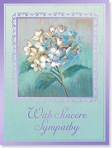 Sympathy Card - A Life So Beautiful | Nel Whatmore | 13494 | Leanin' Tree