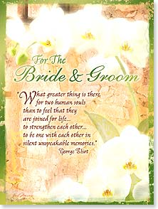 Wedding Card - Wedding Wishes - 13497 | Leanin' Tree