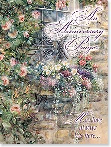 Anniversary Card - An Anniversary Prayer | Lena Liu | 13523 | Leanin' Tree
