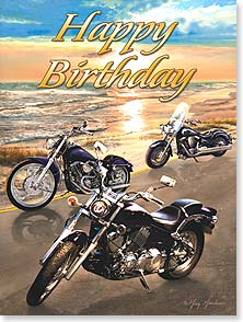 Birthday Card - Cruising into another exciting year! | Greg Giordano | 13701 | Leanin' Tree