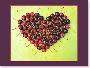 Birthday Card - Cherry Heart | Madalene's Hearts&amp;trade; | 13714 | Leanin' Tree