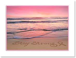 Care & Concern Card for Cancer - Stay Strong | Susan Y. Davis | 13738 | Leanin' Tree