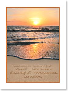 Sympathy Card - Staff Pick - Beautiful Memories | Susan Y. Davis | 13743 | Leanin' Tree